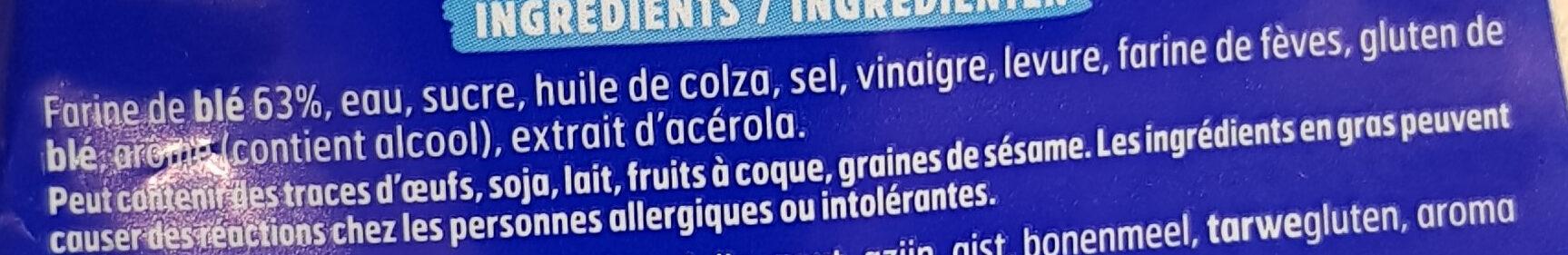 Pain 100% mie nature - Ingrediënten - fr