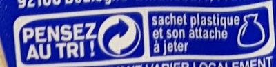 Pain 100% mie nature - Recyclinginstructies en / of verpakkingsinformatie - fr