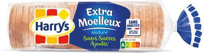 Harrys pain de mie sans sucres ajoutes extra moelleux nature - Prodotto - fr