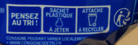 Harrys pain de mie sans sucres ajoutes extra moelleux nature - Istruzioni per il riciclaggio e/o informazioni sull'imballaggio - fr