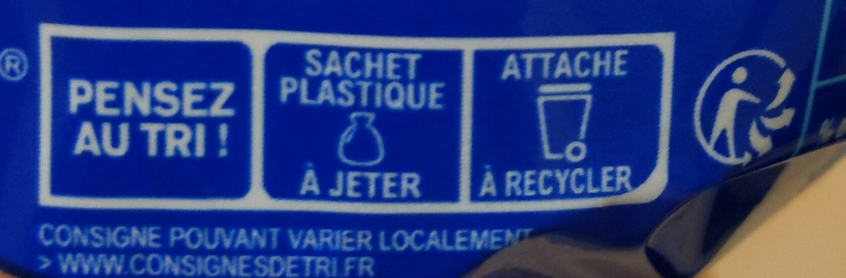Harrys pain de mie sans sucres ajoutes extra moelleux nature - Recycling instructions and/or packaging information - fr