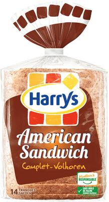 Harrys pain de mie american sandwich complet - Produkt - fr