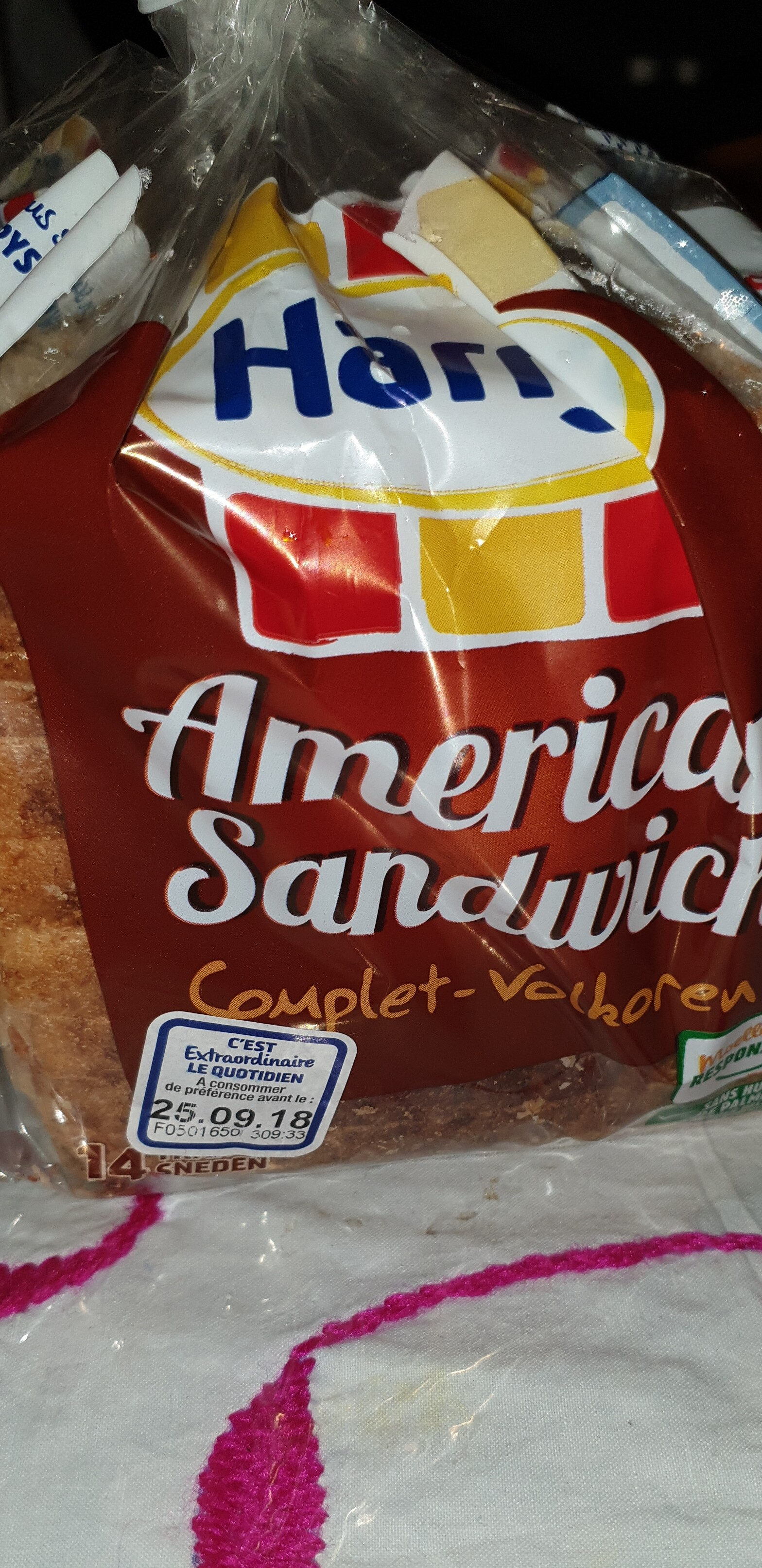 American Sandwich Complet - Product - fr