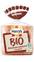 Harrys pain de mie bio complet american sandwich - Produit - fr