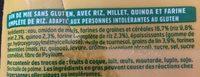 Pain de mie céréales sans gluten - Ingrédients - fr