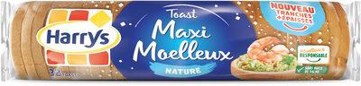 Toast nature tranches epaisses - Produit - fr