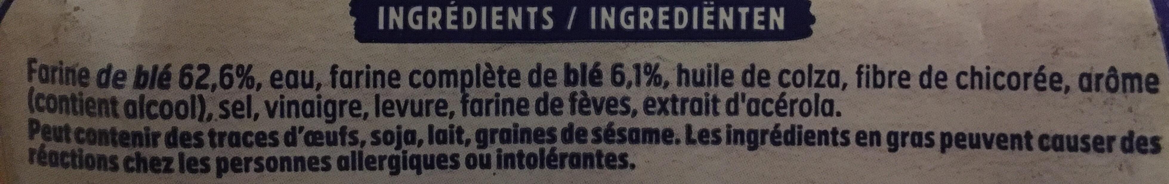Pain AMS nature sans sucres ajoutés - Ingredienti - fr