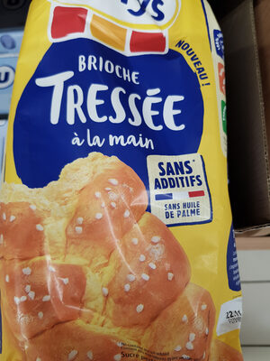 Brioche tressée nature ss additifs - Product