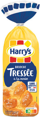 Harrys brioche tressee nature au sucre perle sans additifs - Product - fr