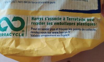 Brioche tranchée nature ss additifs - Instruction de recyclage et/ou information d'emballage - fr