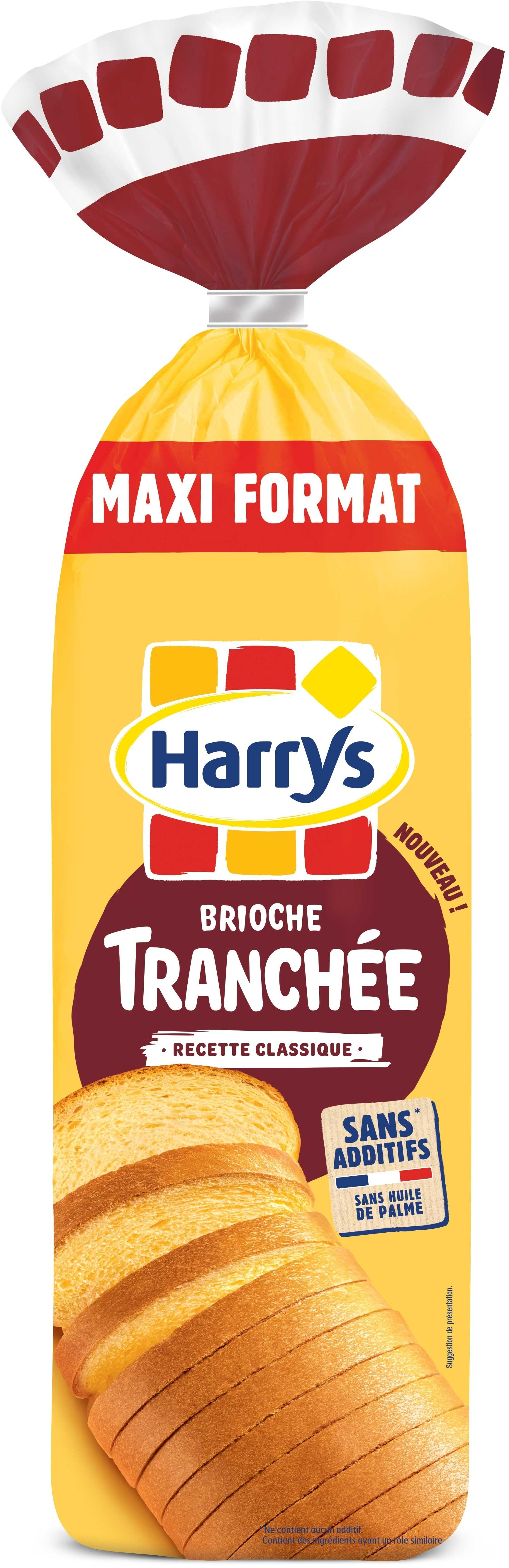Brioche tranchée nature ss additif - Product - fr