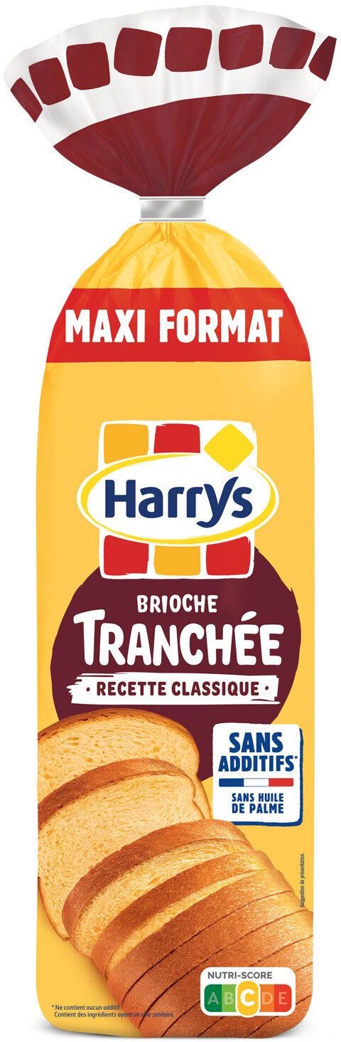 Harrys brioche tranchee recette classique nature sans additif maxi - Prodotto - fr