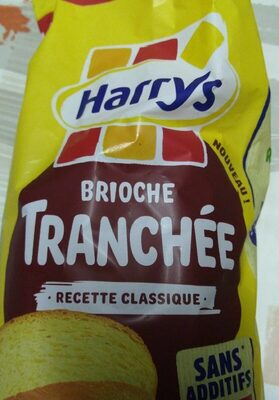 Brioche tranchée nature sans additifs - Nutrition facts
