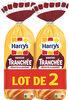 Harrys lot 2 brioches tranchees recette classique nature sans additif - Producto