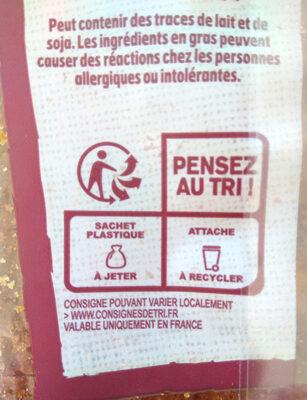 Harrys brioche tranchee bio - Istruzioni per il riciclaggio e/o informazioni sull'imballaggio - fr