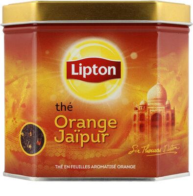 Lipton Thé Noir Orange Jaïpur Vrac Boite Métal 200g - Produit