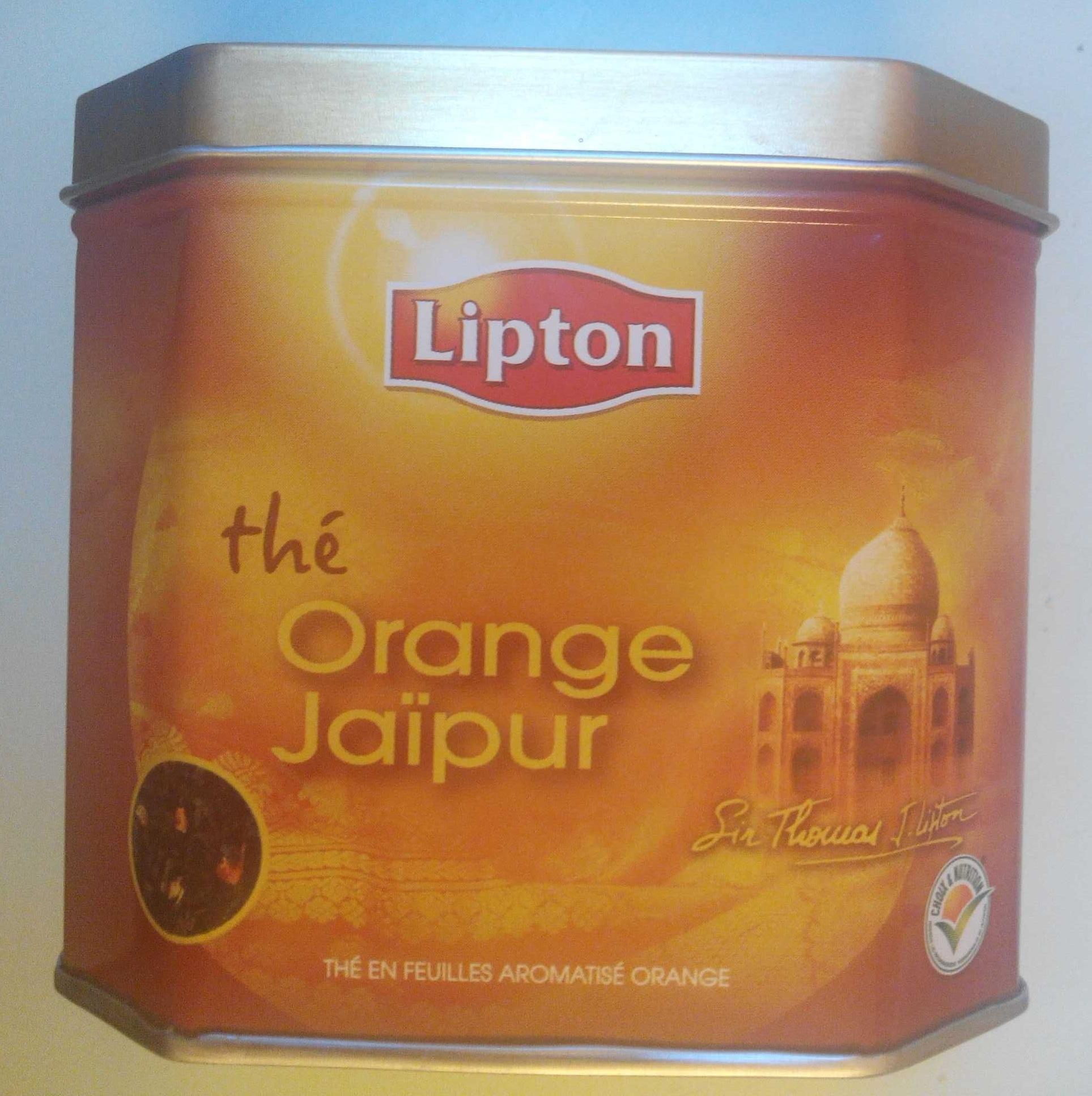 Thé Orange Jaïpur - Produit