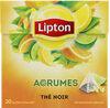 Lipton Thé Noir Agrumes 20 Sachets Pyramid® - Product
