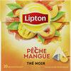 Lipton Thé Pêche Mangue 20 Sachets - Product