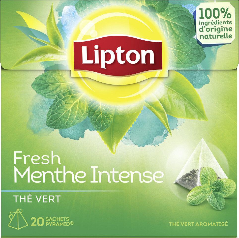 Lipton Thé Vert Menthe Intense 20 Sachets - Prodotto - fr