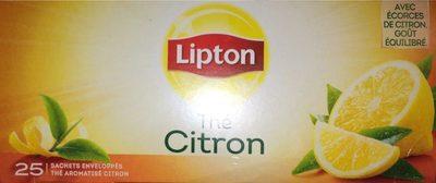citron thé noir - Product