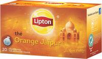 Lipton Thé Noir Orange Jaïpur 20 Sachets Mousseline - Product