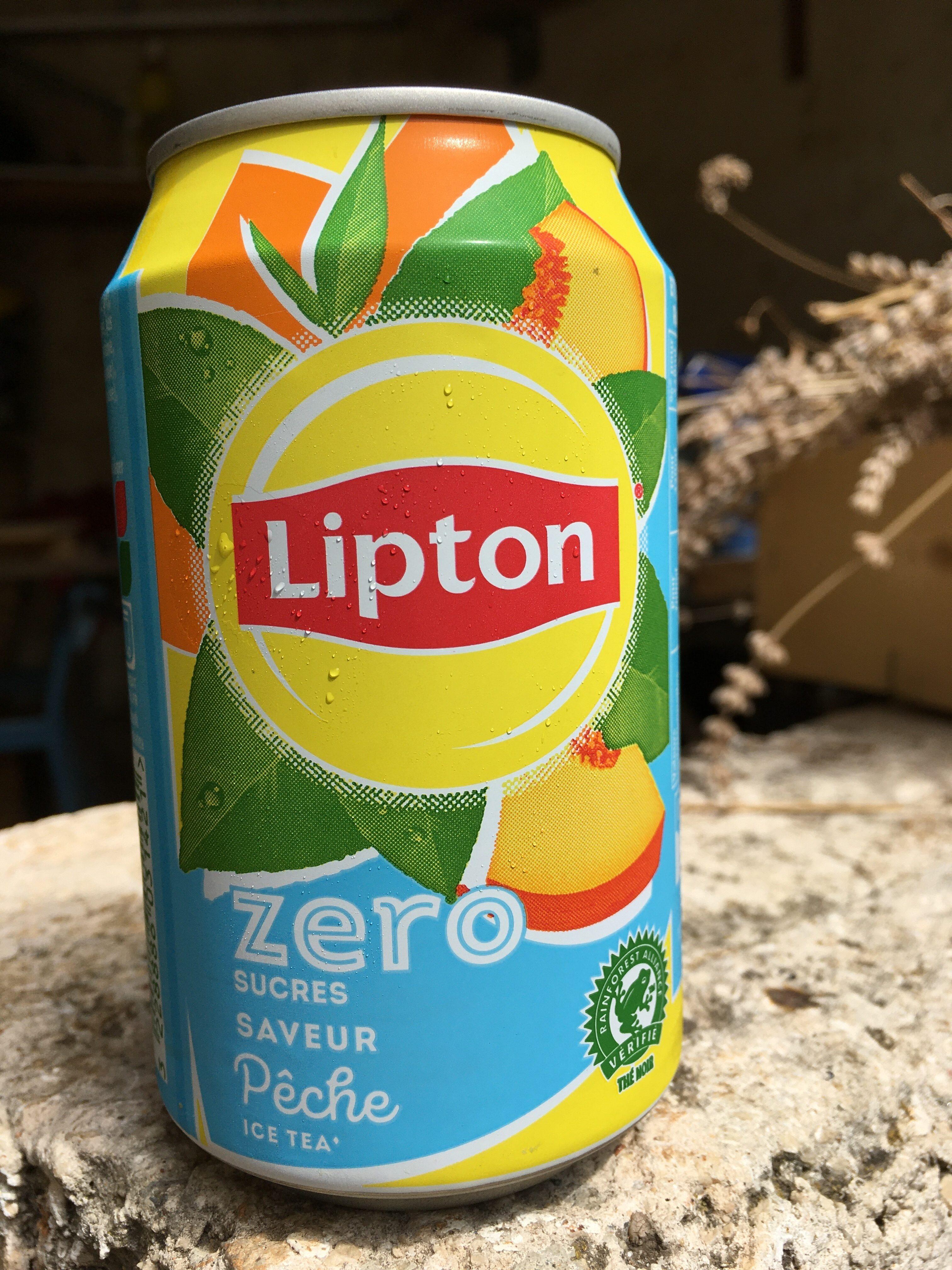 Lipton pêche zéro - Produit - fr