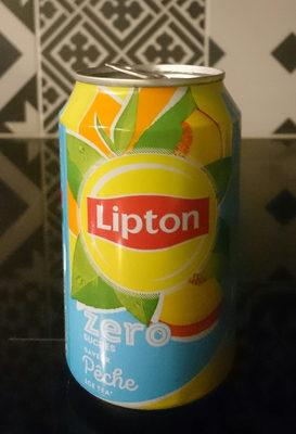 Lipton pêche zéro - Produit