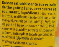 lipton - Ingredients - fr