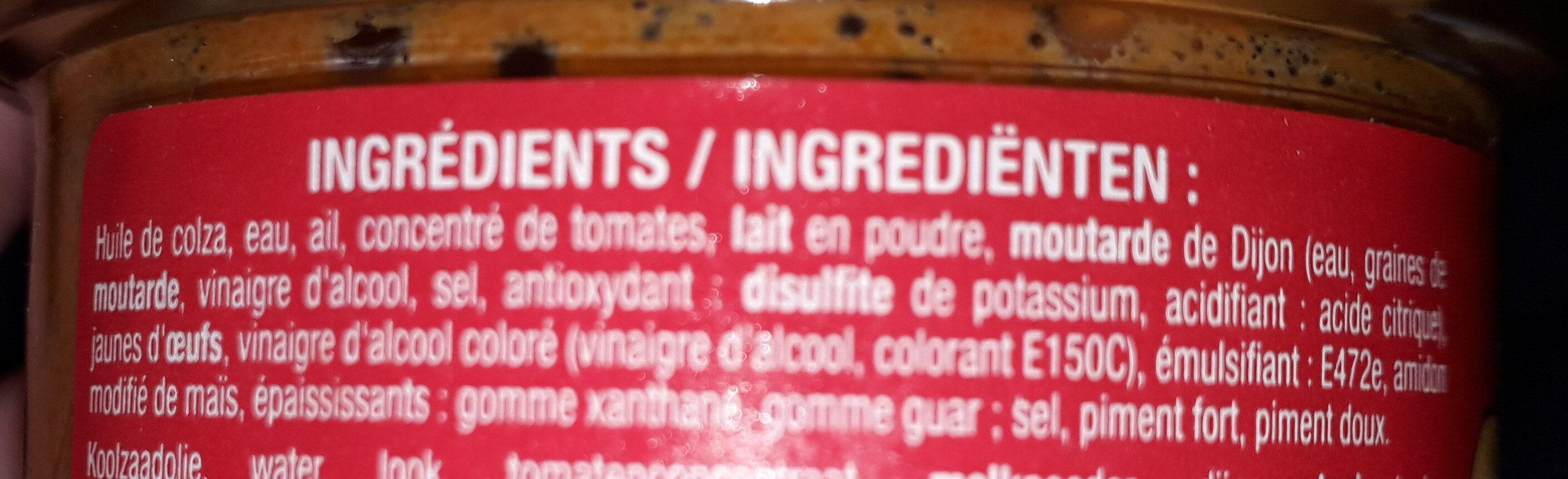Rouille a la provencale - Ingredients - fr