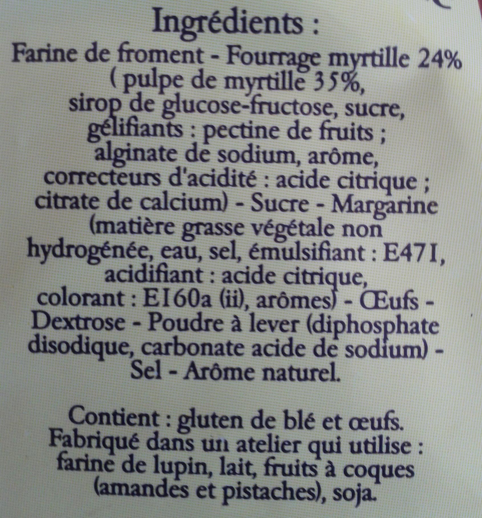 La galette charentaise fourr e mytrille beurlay 300g - Acide citrique leclerc ...