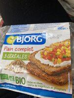 Pain complet 3 céréales - Product - fr