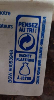 Pain complet 3 céréales - Instruction de recyclage et/ou informations d'emballage - fr