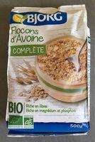 Flocons d'Avoine Complète BIO - Produit