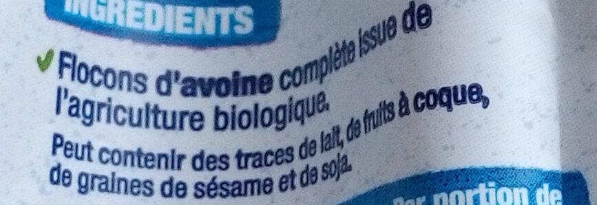 Flocons d'Avoine - Ingredients - fr