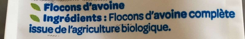 Flocons d'Avoine Complète - Ingrediënten - fr