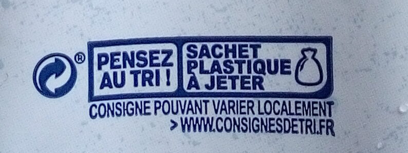 Flocons d'Avoine - Recycling instructions and/or packaging information - fr