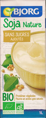 Soja Nature sans sucres ajoutés Bio - Produit