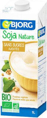 Soja nature sans sucre ajouté bio - Prodotto - fr