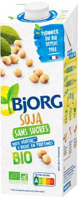 Boisson végétale soja sans sucres - Produit - fr