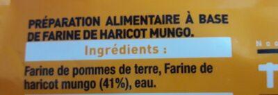 Vermicelles de Soja - Ingrédients - fr