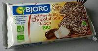 Galettes de riz chocolat noir coco bio - Prodotto - fr