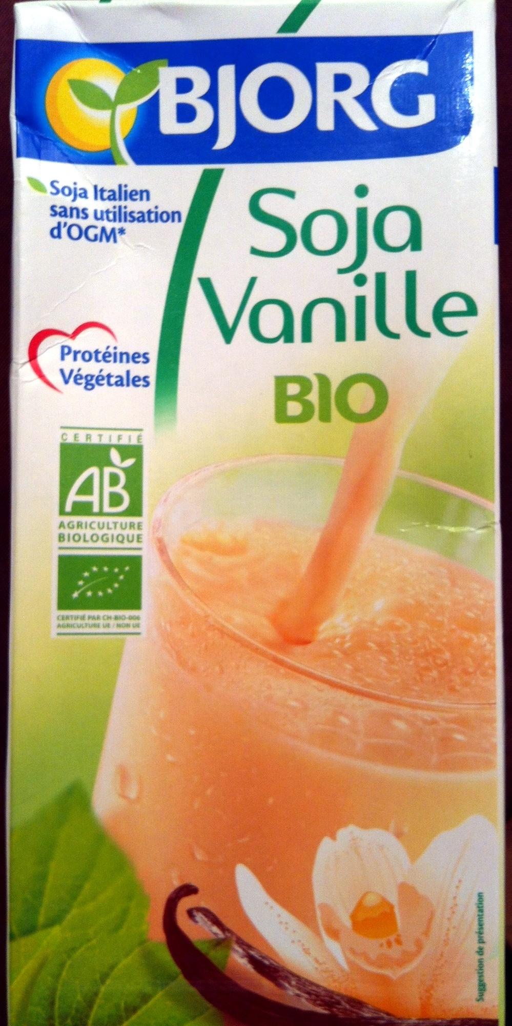 Soja vanille bio bjorg 3 l for Soja cuisine bjorg
