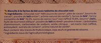 Le biscuit de Natty - Ingrédients - fr