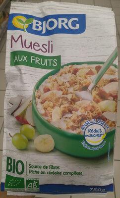 Muesli aux fruits - Producte - fr