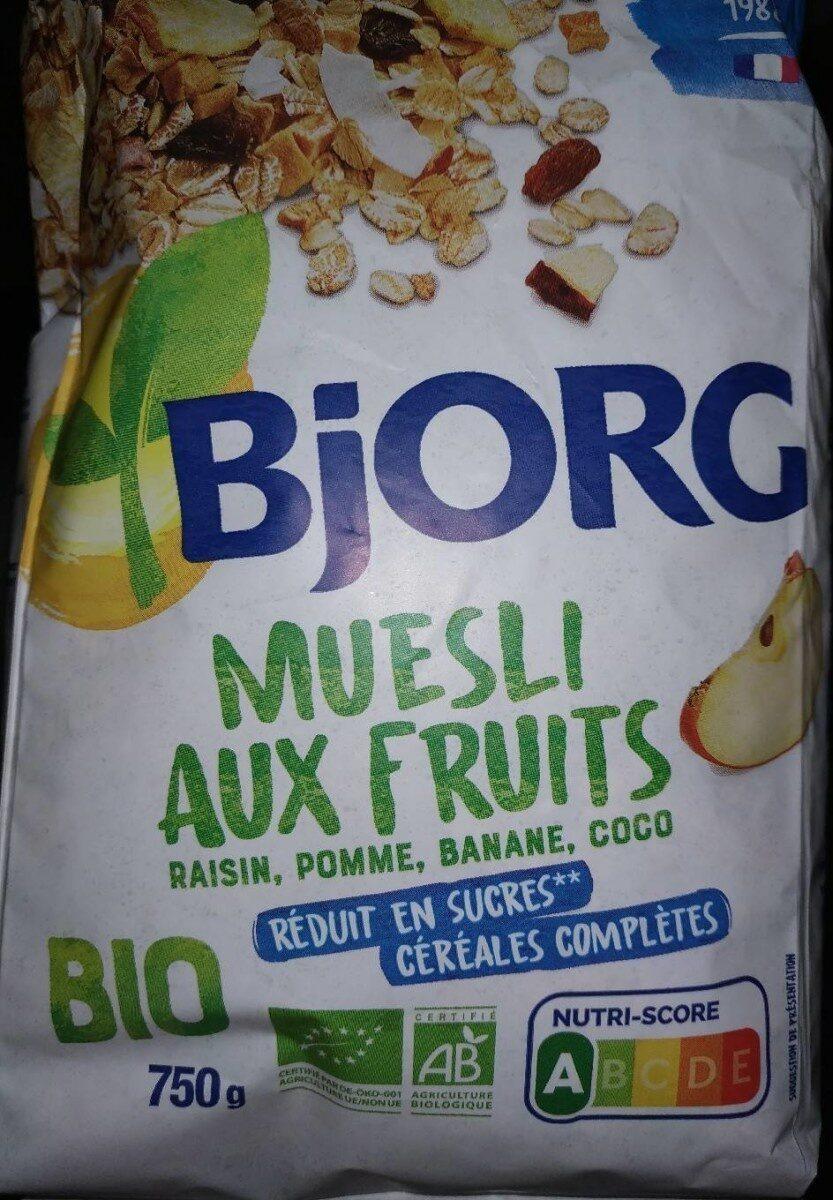 Muesli aux fruits bio - Producto - fr