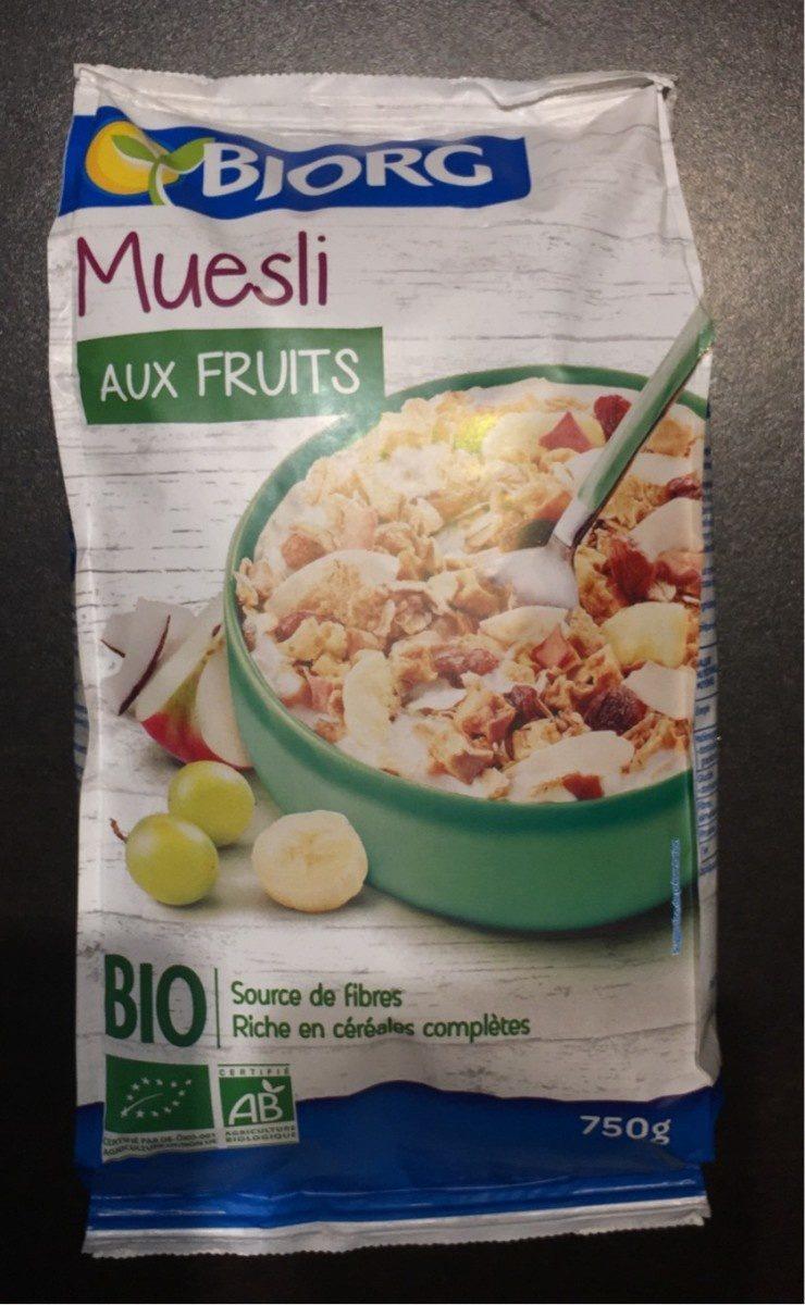 Muesli aux fruits - Producte