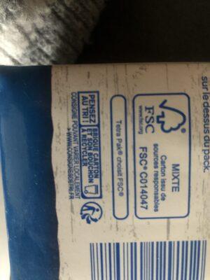 Amande Intense - Instruction de recyclage et/ou informations d'emballage