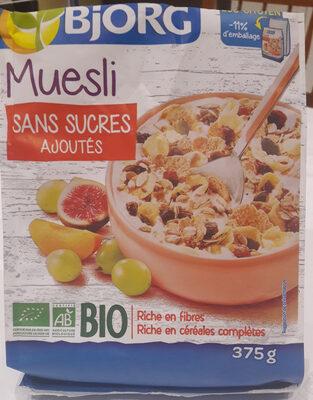 Muesli sans sucre ajouté* Bio - Producto - fr