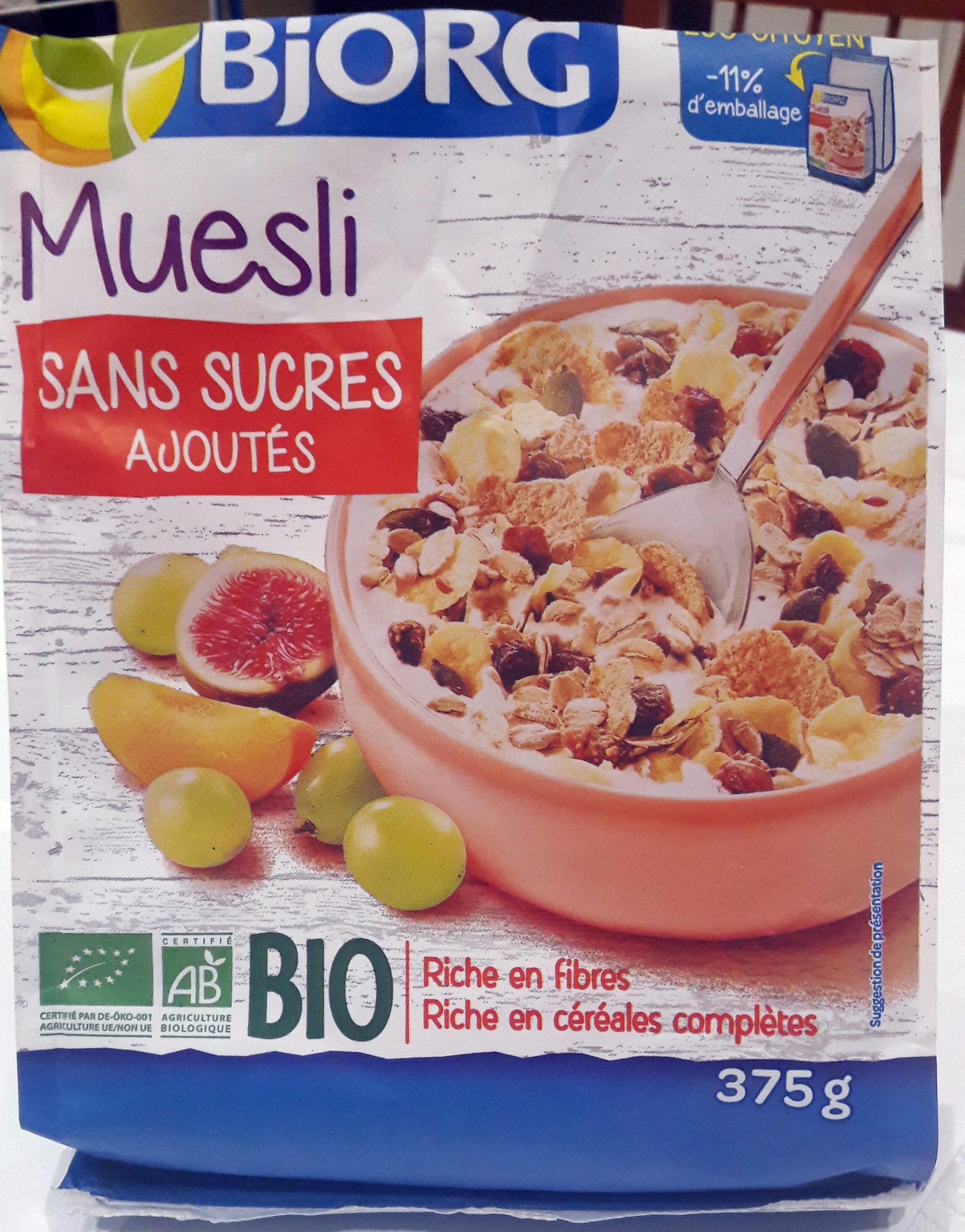 Muesli sans sucre ajoutés - Produit - fr